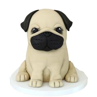 Delicious Dog Theme Cake