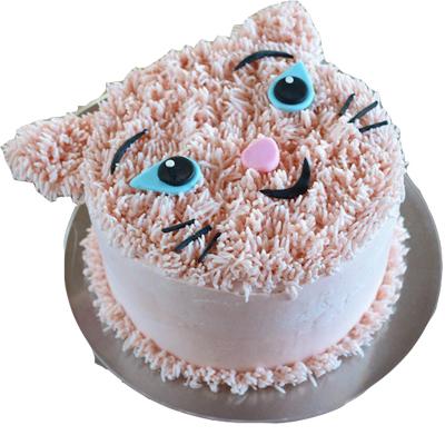 Kitty Birthday Cake
