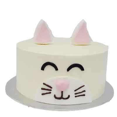 Pineapple Cat Theme Cake