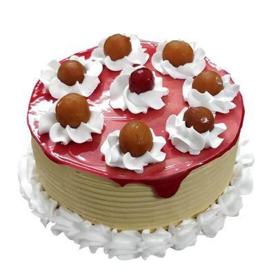 Gulabjamun Pineapple Cake
