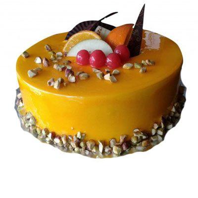 Mango Pista Cake