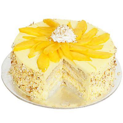 Appetizing Mango Cake