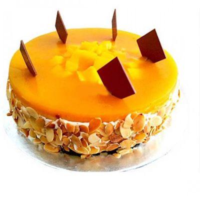 Delicious Mango Cake