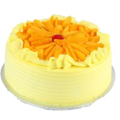 Eggless Mango Cake