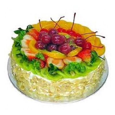 Eggless Mix Fruit Cake