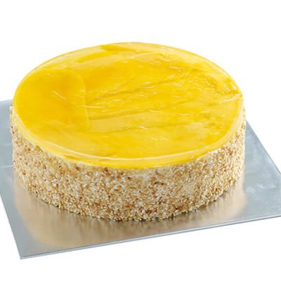 Enticing Mango Cake