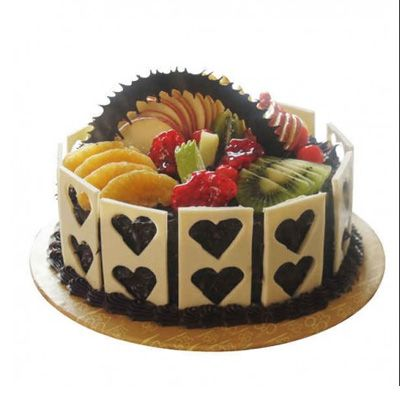 Exotic Chocolate Fruit Cake