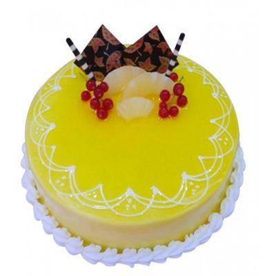 Fresh Pineapple Cream Cake