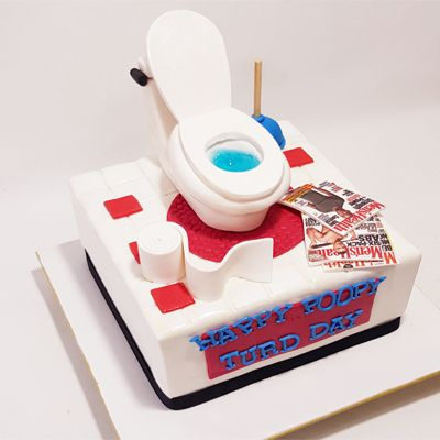 Toilet Break Cake