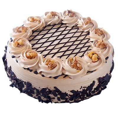 Coffee Walnut Cake