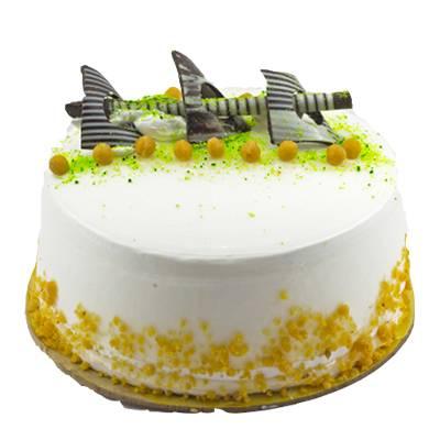 Crunchy Vanilla Cake