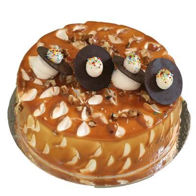 Crunchy Walnut Cake