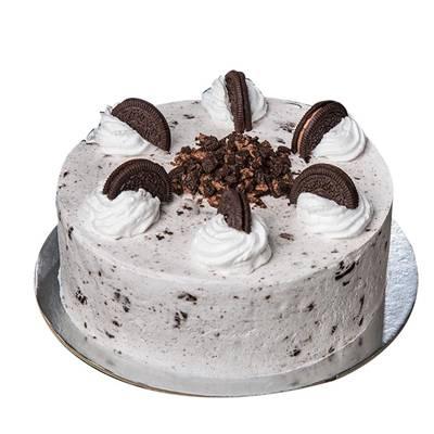 Fresh Cream Oreo Cake