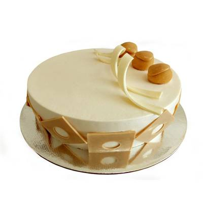 Fudge Butterscotch Cake