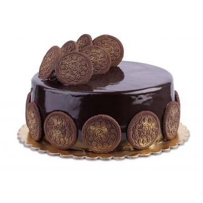 Regular Chocolate Oreo Cake