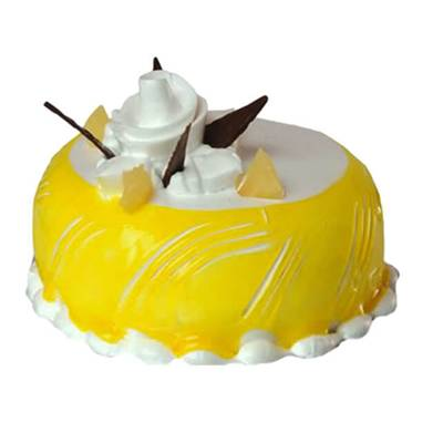 Regular Dome Shaped Pineapple Cake