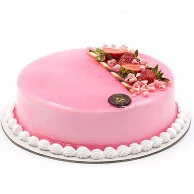 Strawberry Flavoured Cake