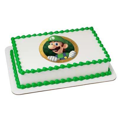 Super Mario Pineapple Cake