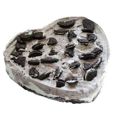 Heart Shape Oreo Cake