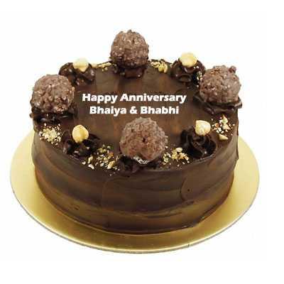 Anniversary Ferrero Rocher Cake