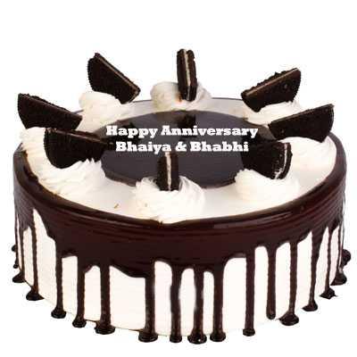 Anniversary Oreo Cake