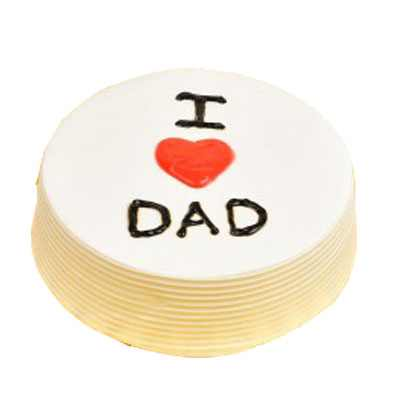 I love Dad Pineapple Cake