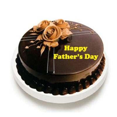 Chocolate Truffle Cake Fathers Day