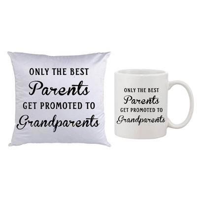 Grandparents Cushion & Mug