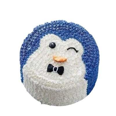 Penguin Fondant Cake
