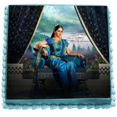 Princess Devasena Photo Cake