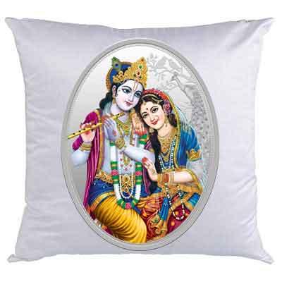 Radha Krishna Cushion