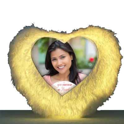 Heart Shape LED Cushion