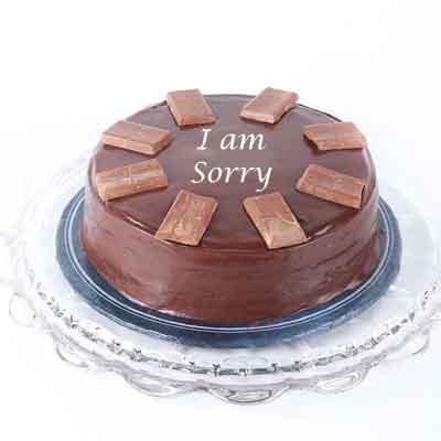 I M Sorry Chocolate Cake