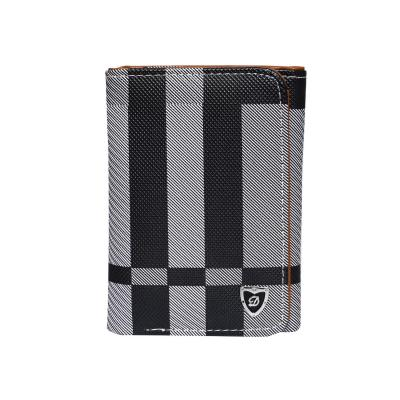 Women Hand Wallet Black with Gray