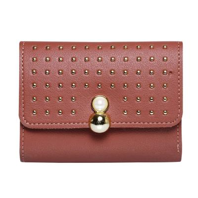 Women Designer Party Hand Wallet Pink