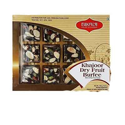 Bikaji Khajoor Dry Fruit Burfi