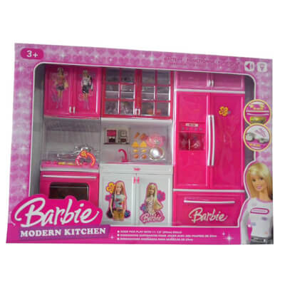 Barbie Doll Kitchen Set