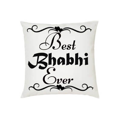 Best Bhabhi Ever Cushion