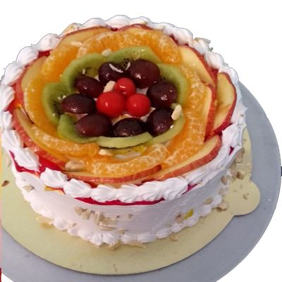 Italian Fresh Fruits Cake