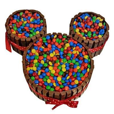Mickey Mouse Kit Kat Cake