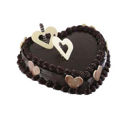 Special Heart Shape Chocolate Cake