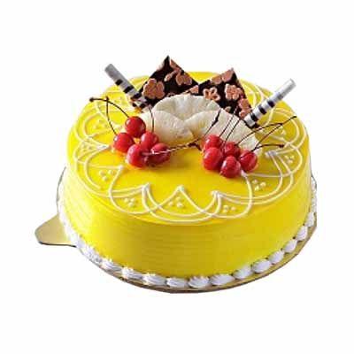 Designer Pineapple Cake