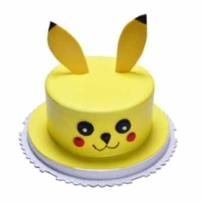 Yummy Round Pineapple Cake