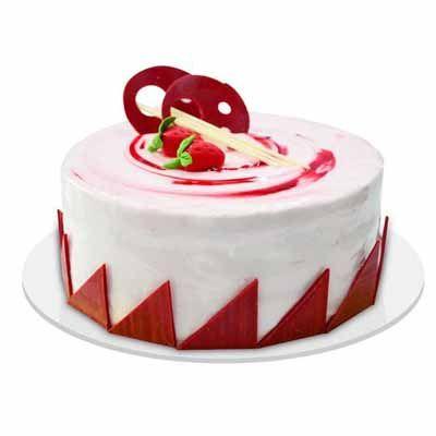 Fusion Strawberry Cake