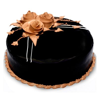 Exotic Chocolate Truffle Cake