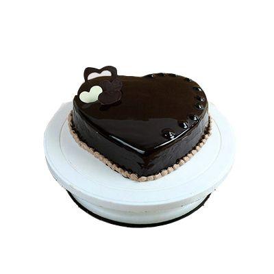 Heart Shape Choco Truffle Cake