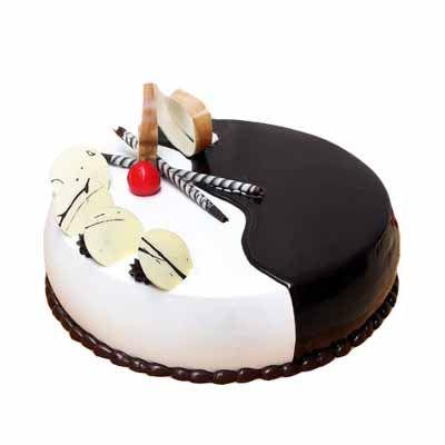 Special Choco Vanilla Cake