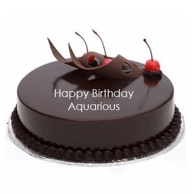 Aquarius Chocolate Truffle Cake