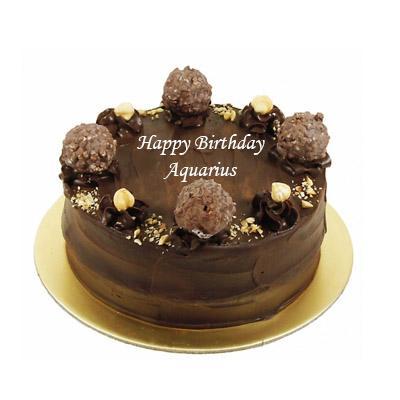Aquarius Ferrero Rocher Cake