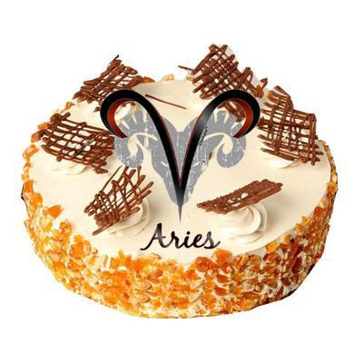 Aries Butterscotch Cake